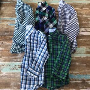 Toddler Boy 3T Button Down Shirt Bundle